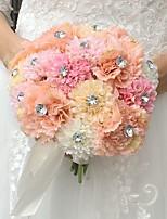 casamento flores bouquets casamento seda 7.09 (aprox. 18cm) acessórios de casamento
