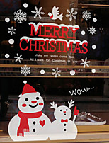 Christmas Wall Stickers Decals Decorative Wall Stickers,Waterproof Fabric Material Home Decoration Wall Decal