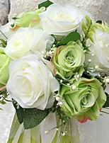 свадебные цветы букеты свадебный шелк 9.06