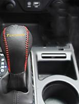 Недорогие -автомобильный Чехлы на рычагах переключения передач Всё для оформления интерьера авто Назначение Hyundai 2015 Новый Тусон Кожа