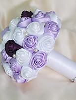 casamento flores bouquets casamento espuma de cetim 7.09