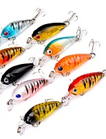 9 pcs Hard Bait g/Ounce mm inch,Plastic Sea Fishing Bait Casting Freshwater Fishing Other Trolling & Boat Fishing Lure Fishing General