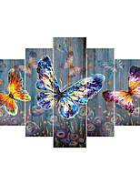 Canvas Set Classic,Five Panels Canvas Square Print Wall Decor For Home Decoration
