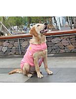 Katze Hund Weste Hundekleidung Wandelbare Kleider warm halten Solide Rot Blau Rosa Kostüm Für Haustiere