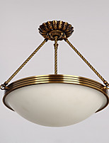 abordables -Rústico/Campestre Tradicional/Clásico Lámparas Colgantes Para Sala de estar Dormitorio Comedor AC 100-240 AC 110-120V Bombilla no incluida