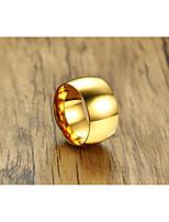 Муж. Жен. Классические кольца Классика Elegant Титан Круглый Бижутерия Назначение Свадьба Для вечеринок Повседневные