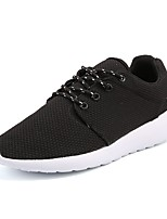 cheap -Men's Shoes Tulle Spring Fall Comfort Sneakers for Casual Outdoor Black Blue