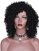 Afro Curly High Quality Heat Resistant African and American Women Synthetic Wig  Capless Wig Fashion Hot Sale