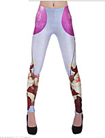 cheap -Women's Thin Print Legging,Print Perfect Fit: True To SIZE