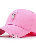 Недорогие -Для женщин На каждый день Бейсболка,Все сезоны Хлопок Цветочный Стильные