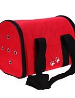 abordables -Chat Chien sac à dos Bag Strap Animaux de Compagnie Transporteur Marche Etanche Portable Pliable Flexible Couleur Pleine Empreinte / Paw