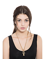 Women's Choker Necklaces Cross Alloy Elegant Jewelry For Casual