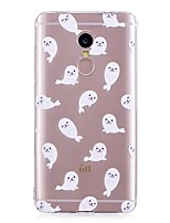 abordables -Coque Pour Xiaomi Redmi Note 4X / Redmi Note 4 Motif Coque Animal Flexible TPU pour Xiaomi Redmi Note 4X / Xiaomi Redmi Note 4 / Xiaomi Redmi Note 3 / Xiaomi Redmi 4A