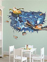 Fantasy Wall Stickers 3D Wall Stickers Decorative Wall Stickers,Vinyl Material Home Decoration Wall Decal
