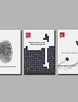 поп-дизайн из 3 предметов современного искусства для украшения комнаты 20x28inchx3