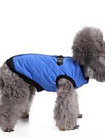 Cane Gilè Abbigliamento per cani Traspirante Alla moda Solidi Fucsia Marrone Rosso Blu Rosa Costume Per animali domestici