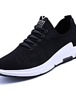 cheap -Men's Shoes Fabric Spring Fall Comfort Sneakers For Casual Black