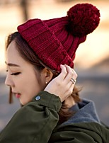 cheap -Women's Sweater Floppy Hat,Vintage Casual Solid Winter Stylish