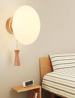 Недорогие -настенный светильник Рассеянное освещение 40W 220 Вольт E27 Модерн Дерево