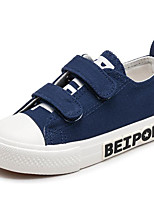 Boys' Shoes Canvas Spring Fall Comfort Sneakers For Casual Blue Red Black White