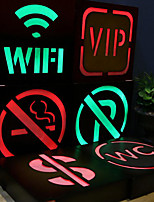 1Pc American Vintage Creative Neon LED Night Light for Bar Restaurant Shop Decorative Artware Multi Options