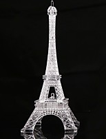 13CM Eiffel Tower LED Night Light Desk Wedding Bedroom Decorate Child Gift Lights Lamp