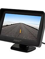 ZIQIAO 4.3 inch TFT Screen Car Rear View Monitor