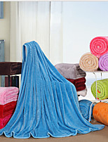 Super Soft,Handmade Solid Polyester Blankets