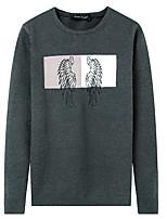 Men's Daily Wear Casual Regular Pullover