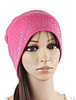 Для женщин На каждый день Широкополая шляпа,Осень Зима Вязанная Галактика