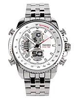cheap -Men's Couple's Fashion Watch Wrist watch Japanese Quartz Calendar / date / day Chronograph Water Resistant / Water Proof Noctilucent