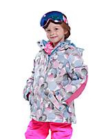 Phibee Kid's Ski Jacket Warm Waterproof Windproof Wearable Antistatic Breathability Skiing Winter Sports Cross Country Snow sports