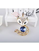 Жен. Ожерелья с подвесками Стразы Лиса Сплав европейский Мода Бижутерия Назначение Повседневные