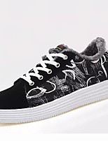 cheap -Men's Shoes PU Spring Fall Comfort Sneakers For Casual Black/White Blue