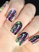 economico -diamante colorato paillettes conchiglia colorata decorazione nail art