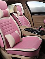 abordables -cojines de asiento automotriz para universal todos los años motores generales amortiguadores de asiento de coche telas de lino