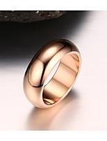 joyería básica del círculo del acero de titanio de las mujeres para el banquete de boda