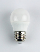 cheap -1pc 4W E27 LED Globe Bulbs G45 6 leds SMD 3528 Warm White 310lm 3000K AC 110-240V