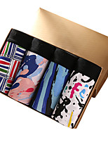 Men's Print Boxers Underwear,Cotton