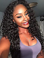 cheap -Kinky Curly Lace Front Wigs Brazilian Human Hair Wigs  Glueless Lace Front Wigs Virgin Hair Wigs with Baby Hair