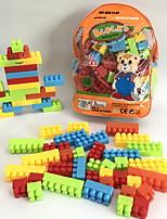 cheap -Building Blocks Toys Cartoon 3D Cartoon Family Cartoon Toy Cartoon Design DIY Kids 110 Pieces