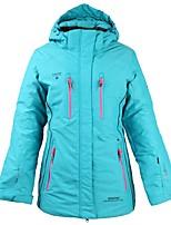 Women's Ski Jacket Warm Waterproof Windproof Wearable Breathability Lightweight Skiing Ski/Snowboarding Cotton Polyster