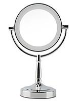 1 pcs Makeup Face Cosmetic Mirror Plastics Material Glass Round