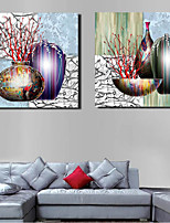 Canvas Set Classic,2 Canvas Square Print Wall Decor For Home Decoration