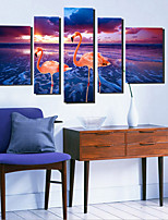 cheap -Canvas Set Classic,Five Panels Canvas Vertical Panoramic Print Wall Decor For Home Decoration