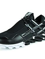 economico -Da uomo Scarpe PU (Poliuretano) Primavera Autunno Comoda Sneakers Per Casual Nero Nero e Oro Bianco/nero