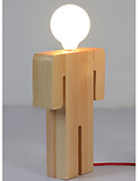 Wall Light Ambient Light Wall Sconces 40W 220V E27 Traditional/Classic Modern/Contemporary Wood