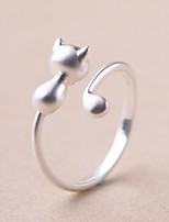 cheap -Women's Knuckle Ring Band Rings , Silver Plated Circle Jewelry For Wedding Party