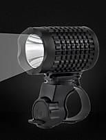 Front Bike Light LED Cree XP-E R2 Cycling Professional Level Flashlight USB 350 Lumens USB White Cycling/Bike