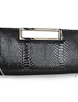 cheap -Women Bags PU Clutch Buttons for Casual All Season Black